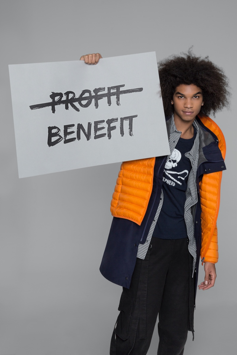 Save The Duck promotes a fashion conscious with cruelty-free and eco-friendly styles.