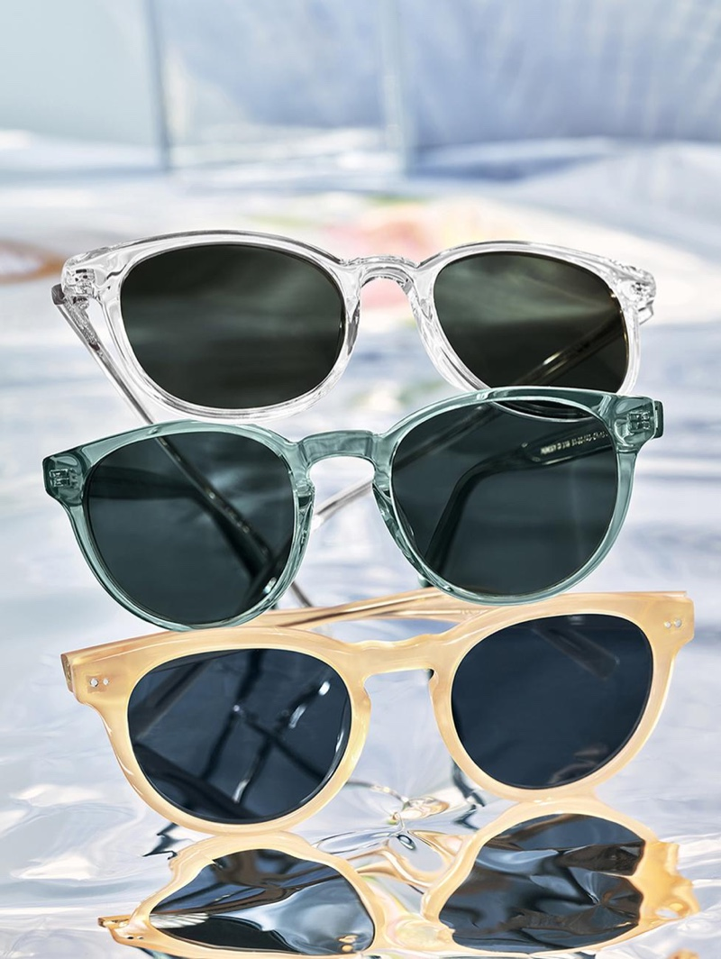 Add some color to your summer look with Warby Parker's Duran, Percey, and Hayes sunglasses.