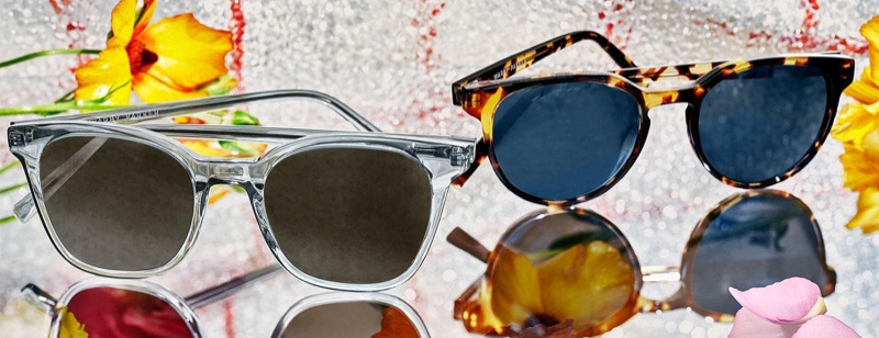 Warby Parker makes a summer statement with its Griffin and Wright sunglasses.