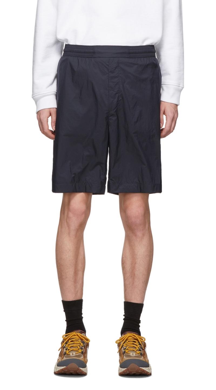 Acne Studios Navy Ripstop Shorts