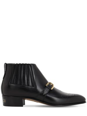 30mm Worsh Leather Boots