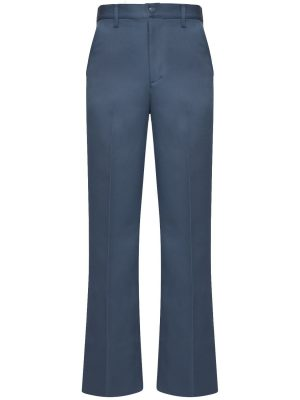 31cm Dyed Flared Drill Pants