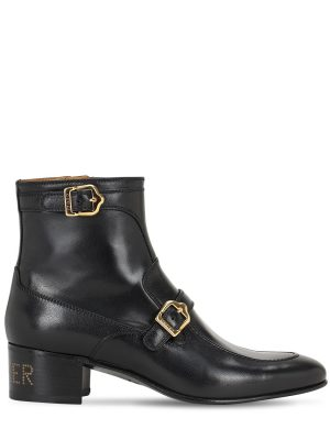 45mm Ebal Leather Boots
