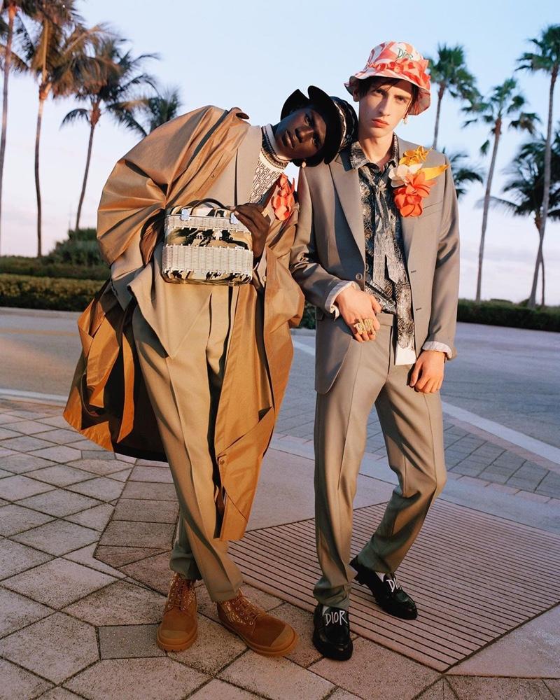 Miami Vibes: Ludwig, Malick, Benno & Otto for Dior Magazine