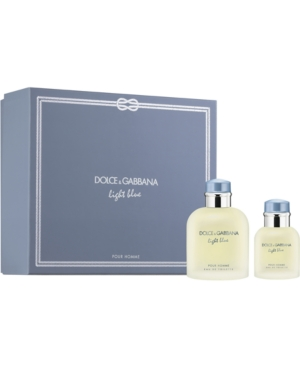 Dolce & Gabbana Men's 2-Pc. Light Blue Pour Homme Gift Set