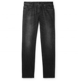 Dolce & Gabbana - Skinny-Fit Denim Jeans - Men - Gray