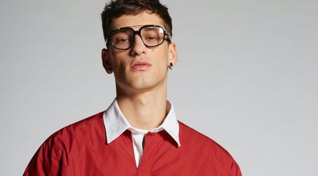 Dsquared2 Nylon United Polo Shirt