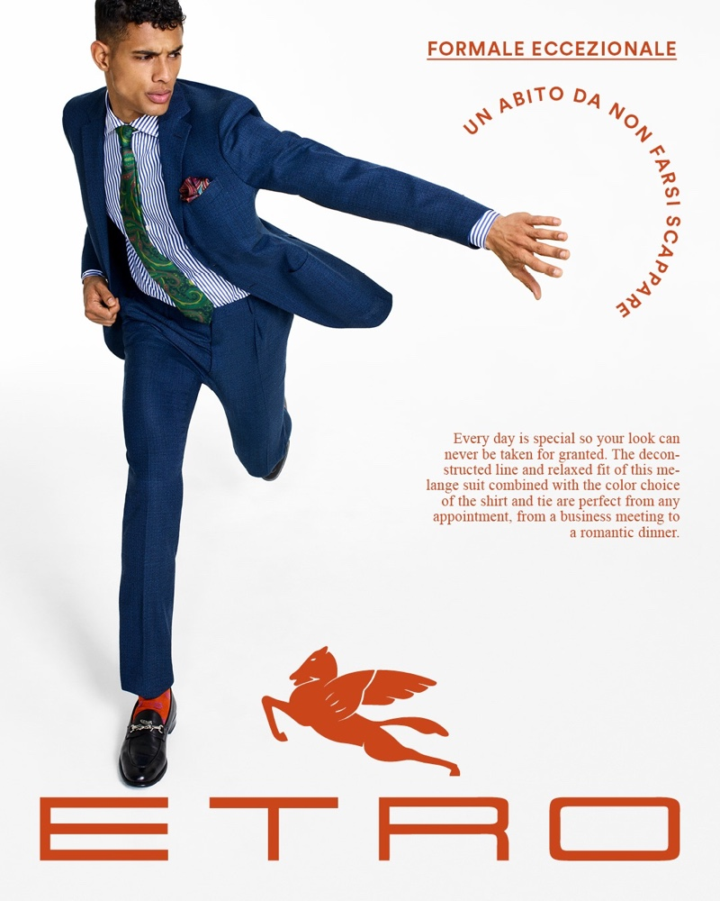 Hang, Justin + More Go Sartorial for Etro Tailoring Campaign