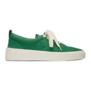 Fear of God Green 101 Lace-Up Sneakers