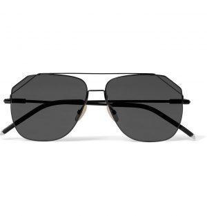 Fendi - Aviator-Style Metal Sunglasses - Men - Black