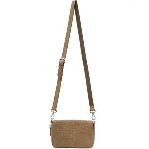 Fendi Beige Forever Fendi Flap Bag