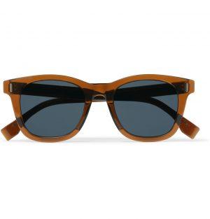 Fendi - D-Frame Acetate Sunglasses - Men - Brown
