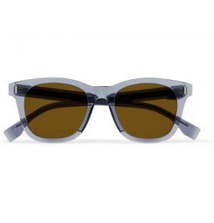 Fendi - D-Frame Acetate Sunglasses - Men - Gray