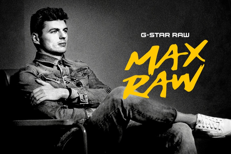 Max Verstappen collaborates with G-Star Raw for a special collection under the name Max Raw.