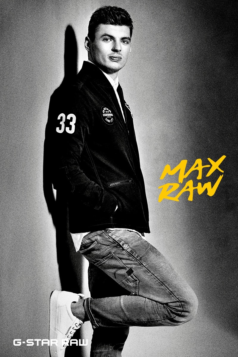 G-Star Raw enlists Max Verstappen for a unique clothing collaboration titled Max Raw.