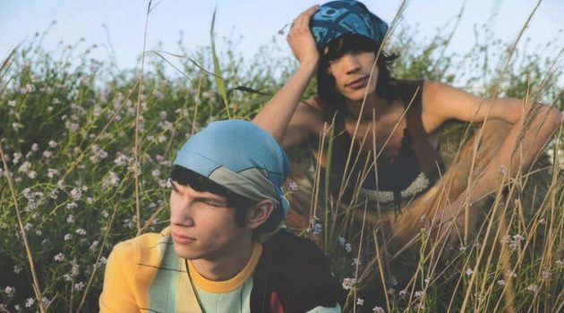 El Pescador: Nour, Dan & Jiri for GQ Portugal