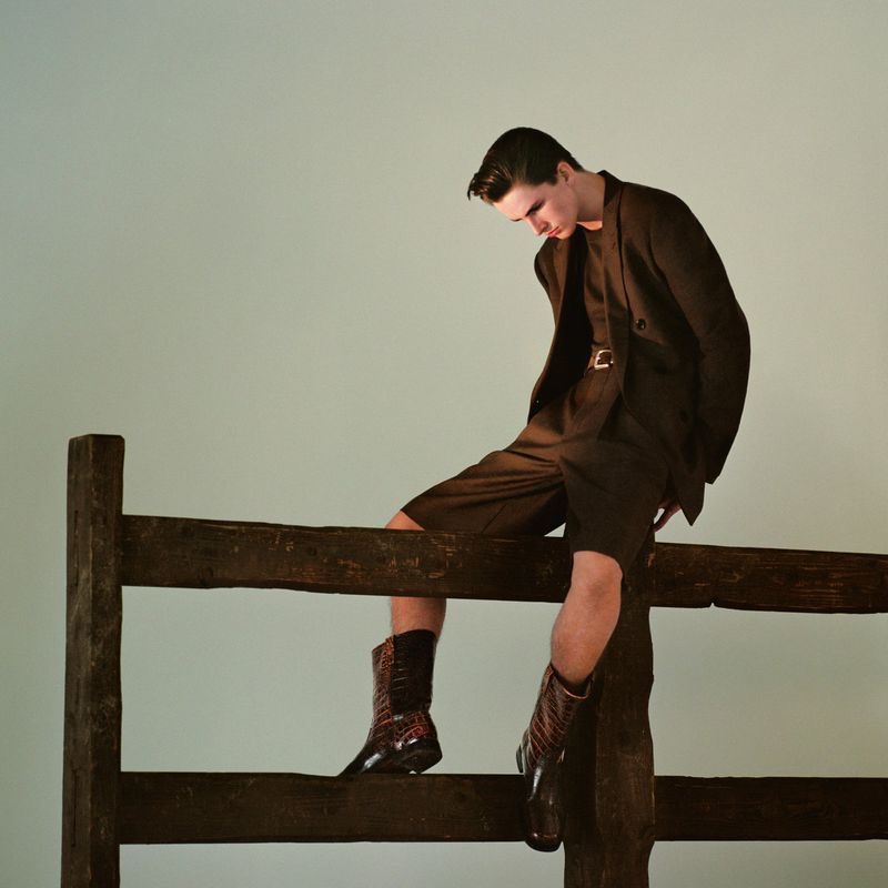 George Dons Equestrian Style for Fantastic Man