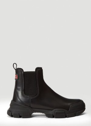 Gucci Leon Boots in Black size UK - 07