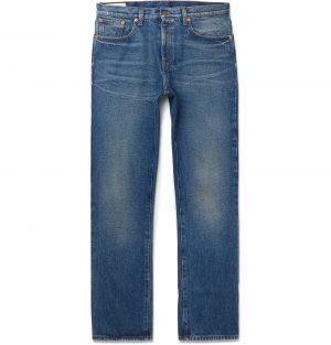 Gucci - Washed-Denim Jeans - Men - Blue