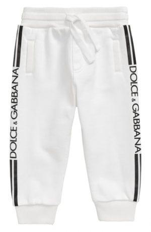 Infant Boy's Dolce & gabbana Logo Stripe Sweatpants