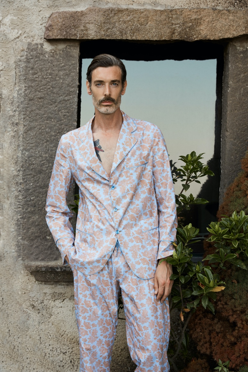 Luca Larenza Tackles an Italian Holiday with Spring '21 Collection