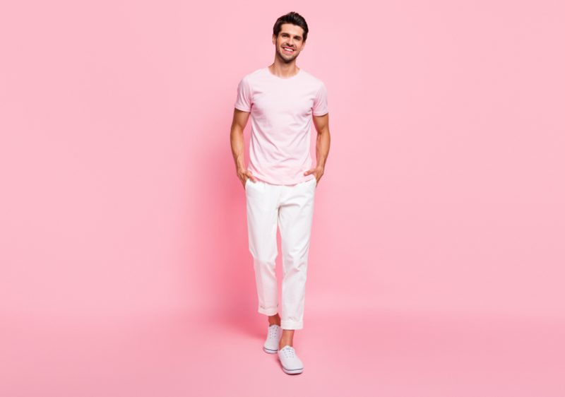 Man Pastel Fashions
