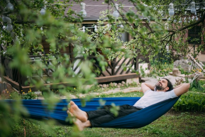Man Resting Relaxing