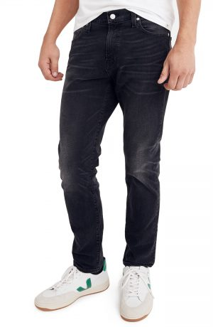 Men's Madewell Slim Fit Jeans, Size 32 x 32 - Black