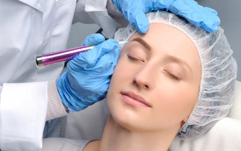 Microblading Woman Image Eyebrows