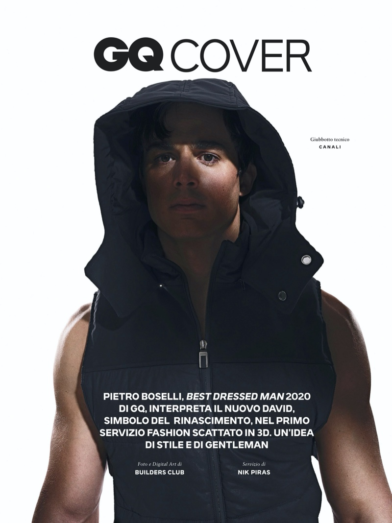 Pietro Breaks Boundaries with GQ Italia Cover Story