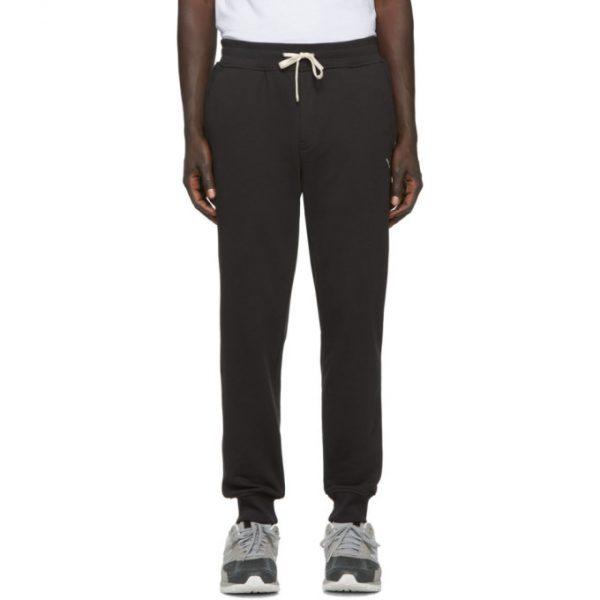 Saturdays NYC Black Ken Slash Lounge Pants