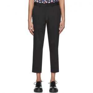 Saturdays NYC Black Murphy Cropped Trousers
