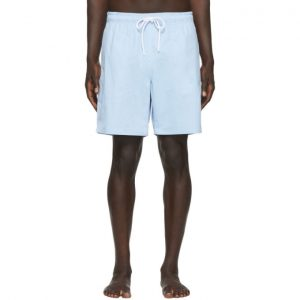 Saturdays NYC Blue Ritchie Swim Shorts