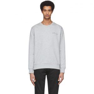 Saturdays NYC Grey Bowery Cosmographical Sweatshirt