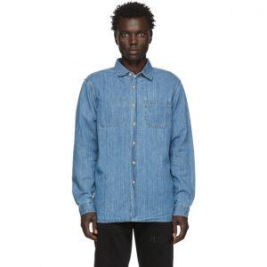 Saturdays NYC Indigo Denim Kenmare Shirt