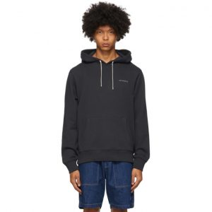 Saturdays NYC Navy Ditch Leon Hoodie