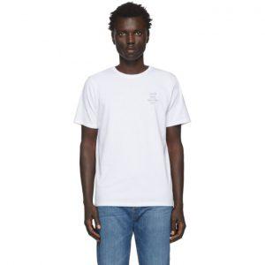 Saturdays NYC White Neon Gotham T-Shirt