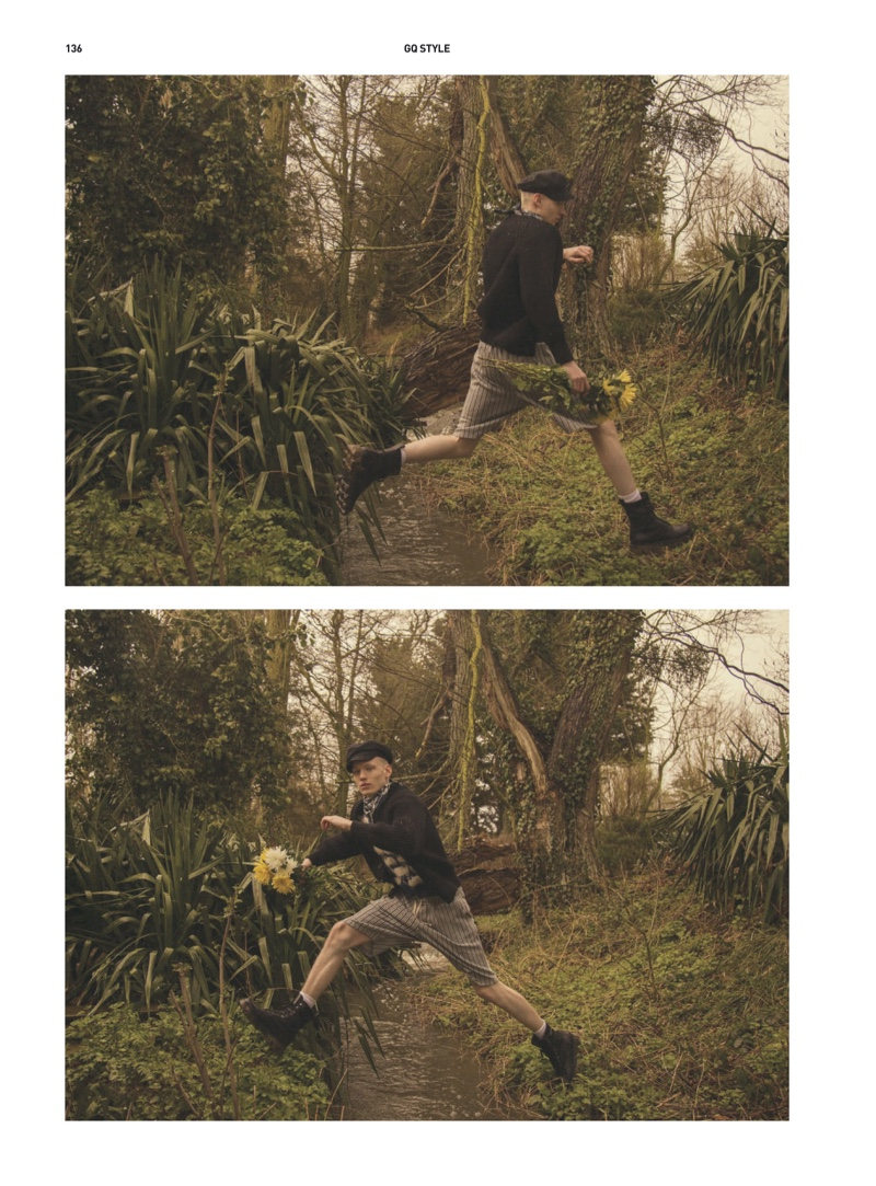 Go Wild: Stas Embraces Nature for GQ Style China