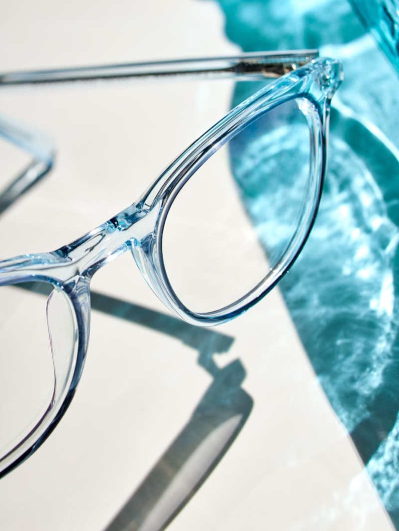 Warby Parker Durand in Traced Aquamarine Crystal