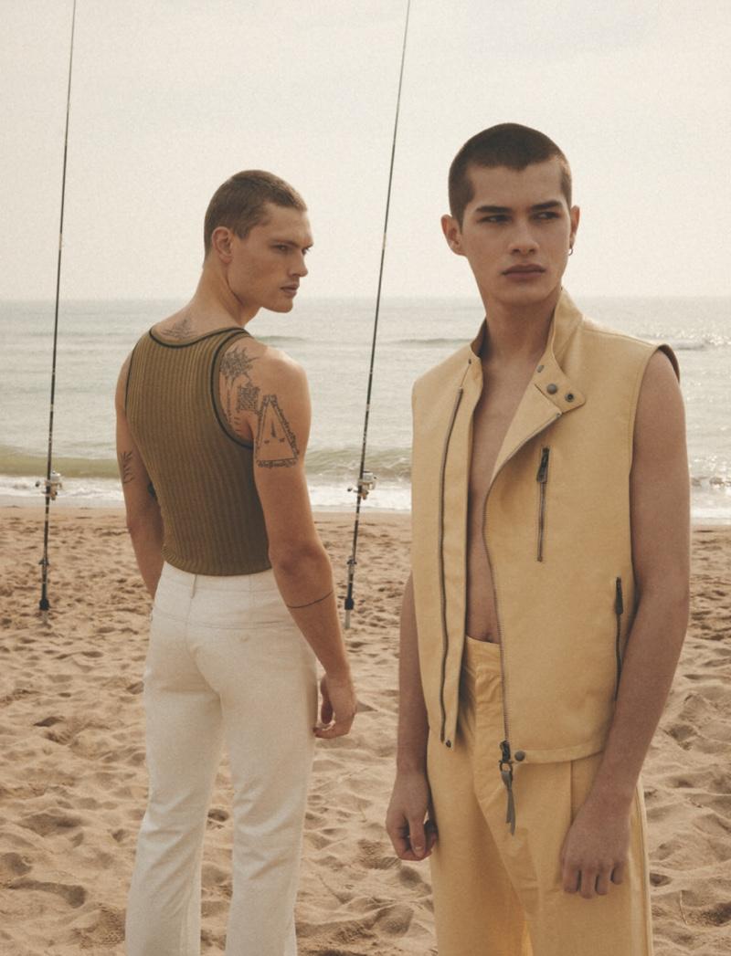 William, Alvaro & Alfredo Star in L'Officiel Hommes Ukraine Cover Shoot
