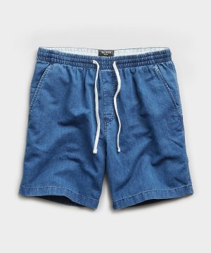 "7"" Chambray Weekend Short in Indigo"