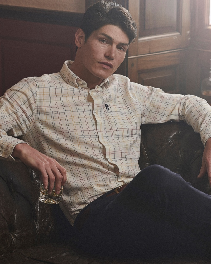 Barbour Celebrates Its Heritage with Fall '20 Shirt Collection