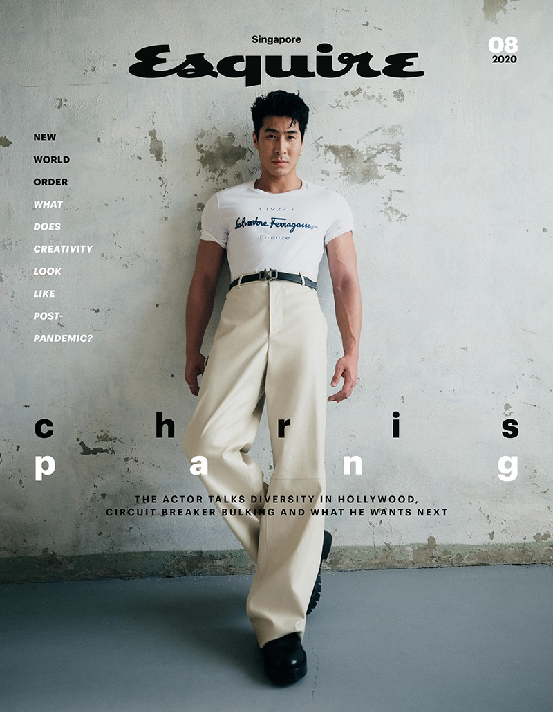Chris Pang covers the August 2020 issue of Esquire Singapore.