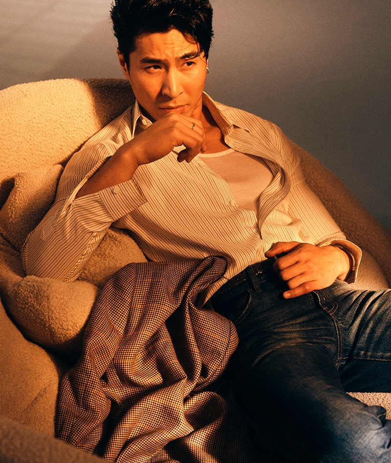 Esquire Singapore Debuts New Look with Cover Star Chris Pang