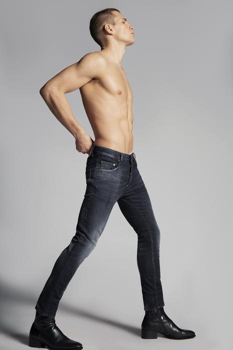 DSQUARED2 Men 5 pockets Black Size 26 92% Cotton 6% Elastomultiester 2% Elastane