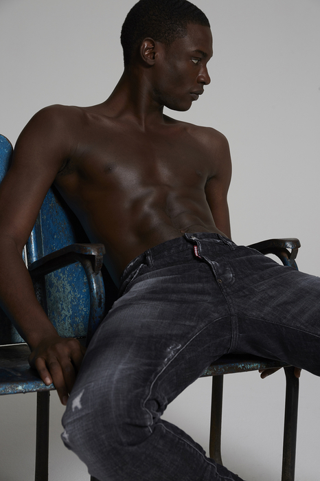 DSQUARED2 Men 5 pockets Black Size 34 98% Cotton 2% Elastane