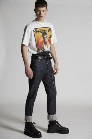 DSQUARED2 Men 5 pockets Blue Size 28 100% Cotton