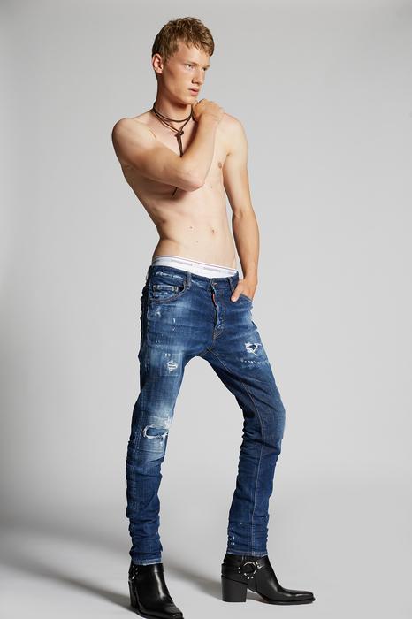 DSQUARED2 Men 5 pockets Blue Size 28 98% Cotton 2% Elastane