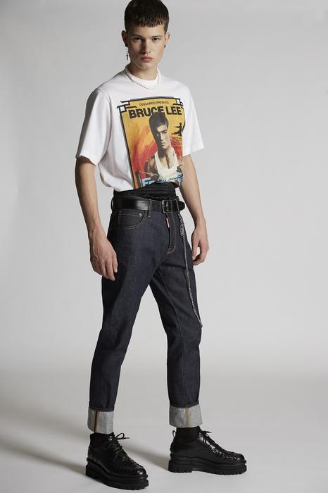 DSQUARED2 Men 5 pockets Blue Size 32 100% Cotton