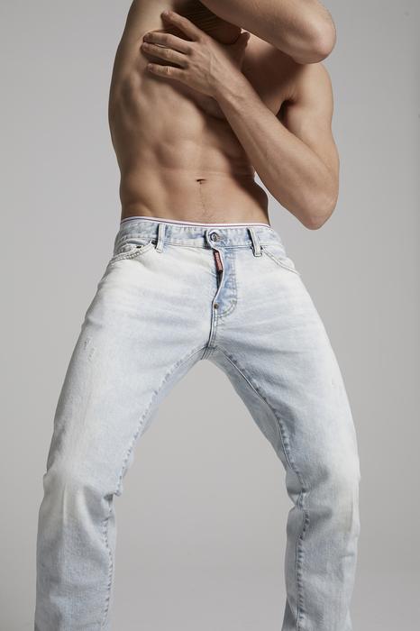 DSQUARED2 Men 5 pockets Blue Size 32 99% Cotton 1% Elastane